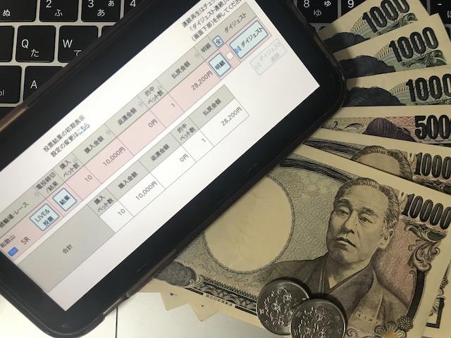 日本競輪投資会(JKI)の2020年8月17日の無料予想で獲得した28,200円