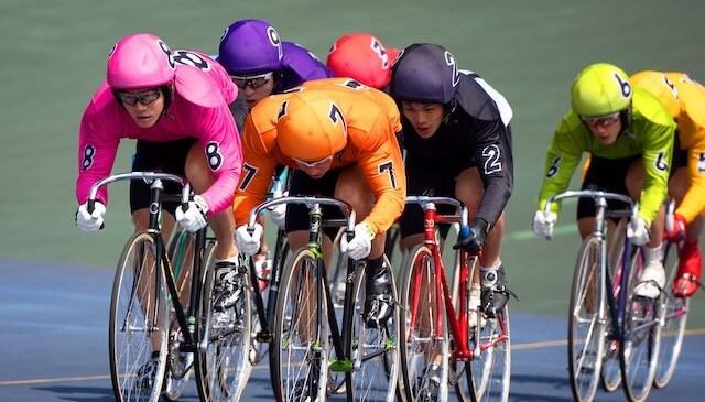 競輪 ヘルメット